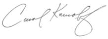 Carols signature